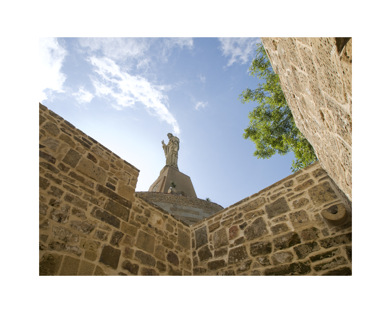 Statue in San Sebastian, Spain