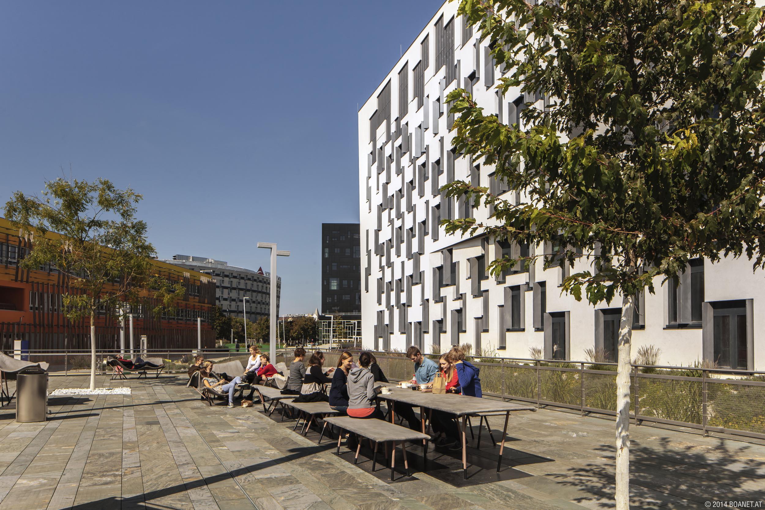 WU Campus, photo: © BOAnet.at