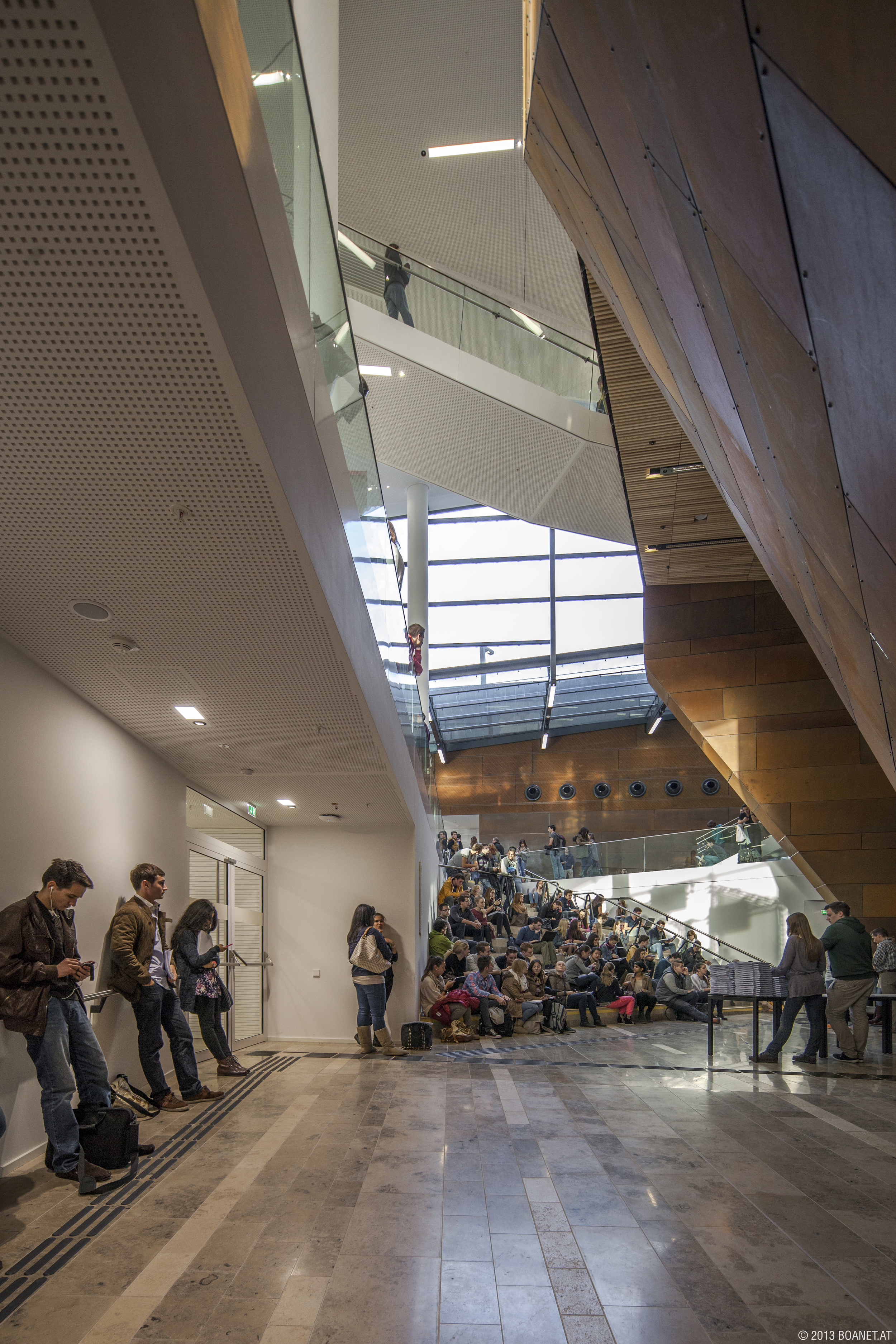 WU Campus photo: © BOAnet.at