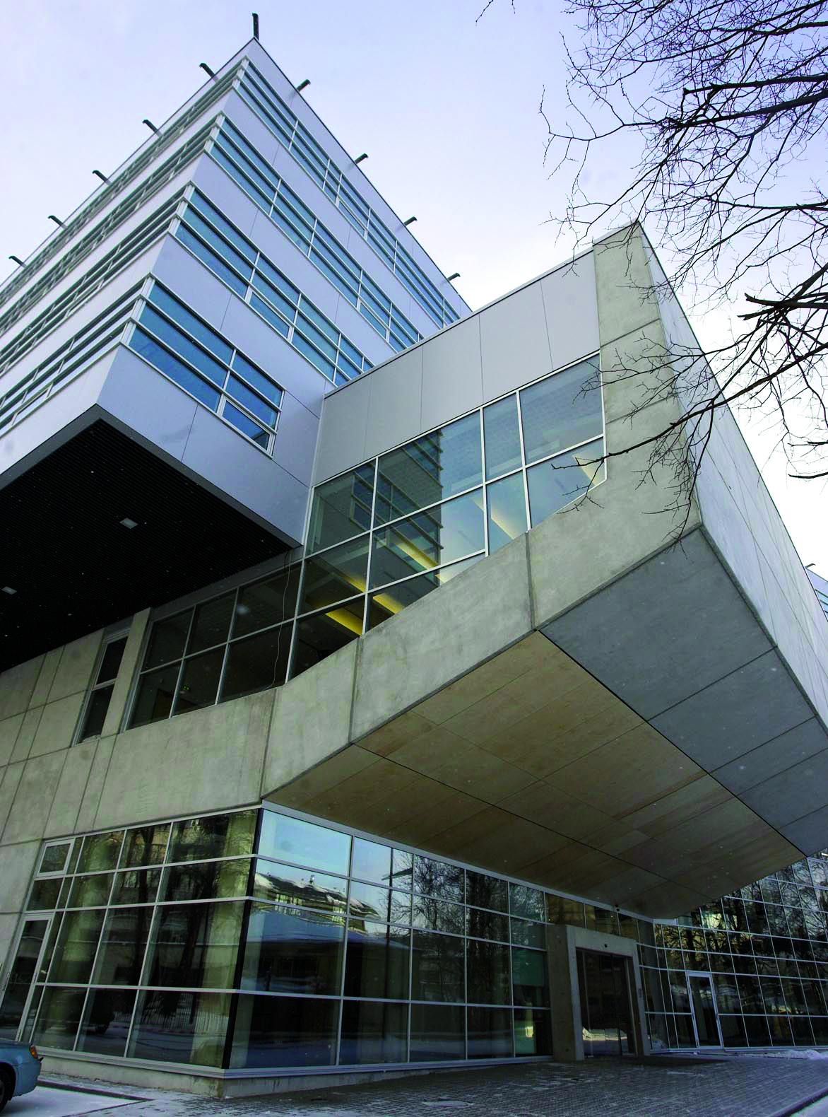 Tallinn Uneversity Mare building