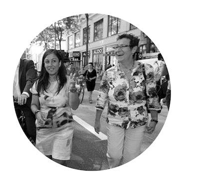 Renate Kaufmann on the right, photo: Georg Hochmuth  (c)