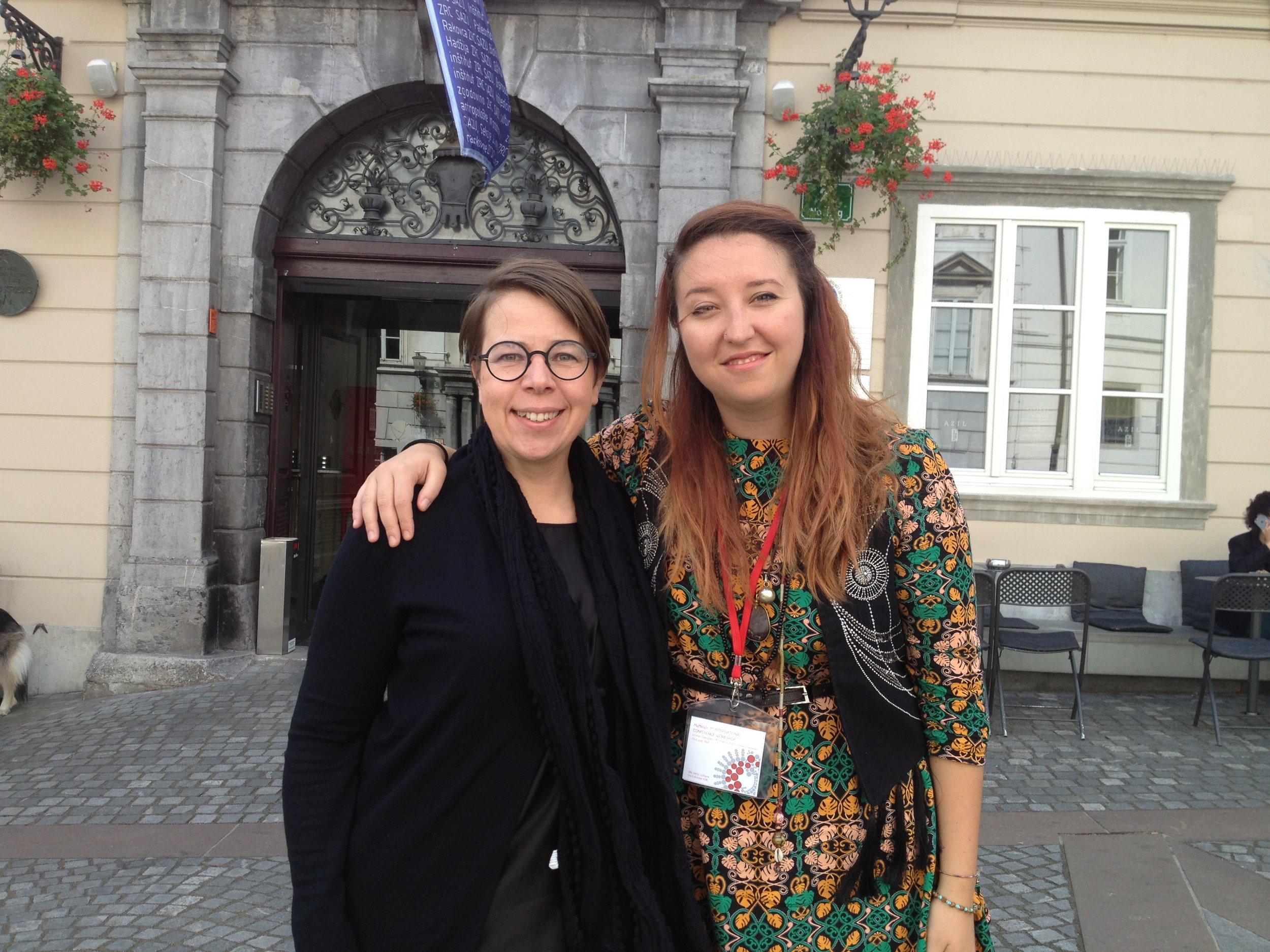 Tanja Poppelreuter (left) and Monica Prencipe (right), photo: Milota Sidorova (c)