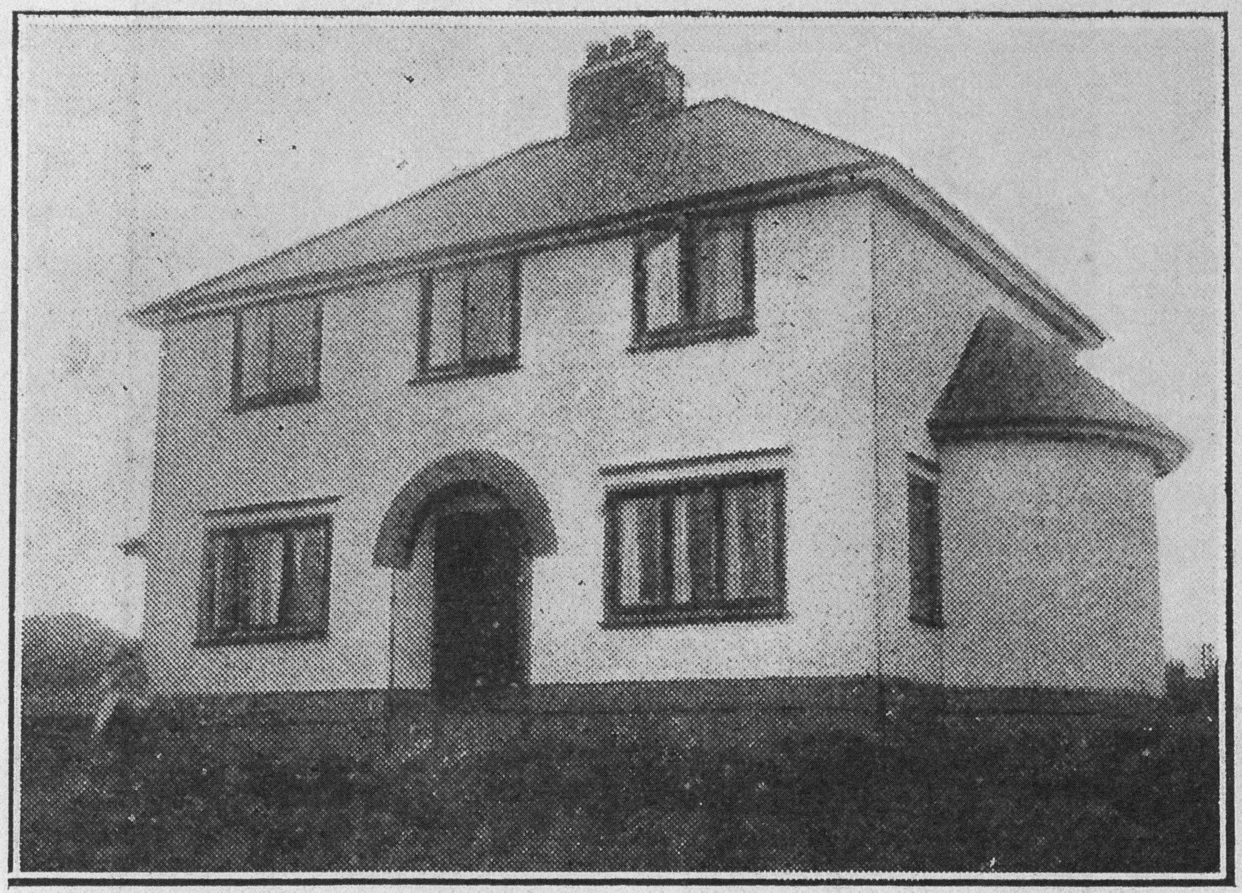 Family house by Florence Fulton Hobson, Ireland