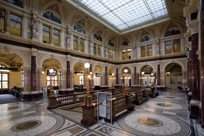 Rekonštrukcia paláca Rytířská, centrály Českej Sporiteľne, design: ASGK, foto (c): Ester Havlová