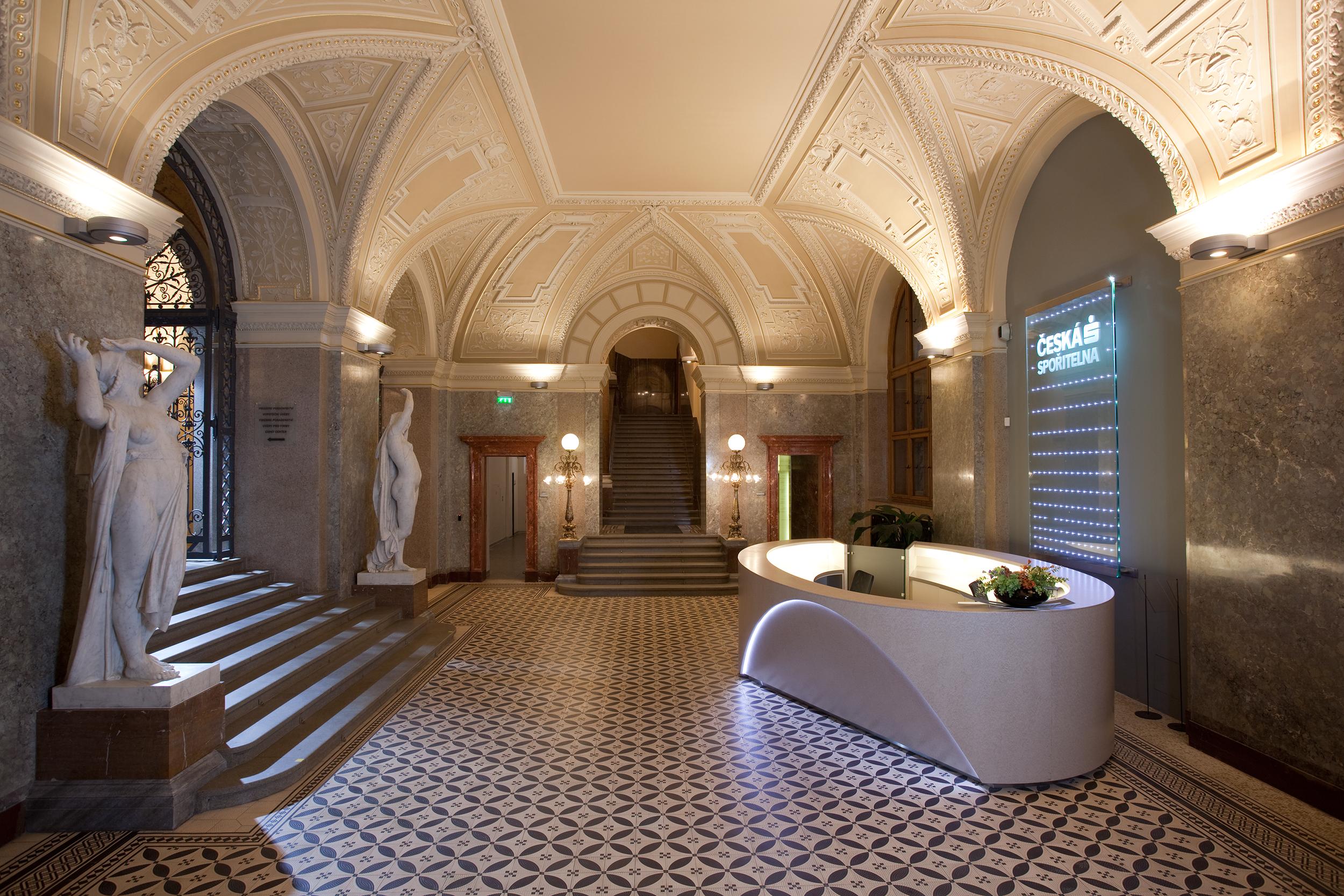 Palác Rytířská - centrála Českej sporiteľne