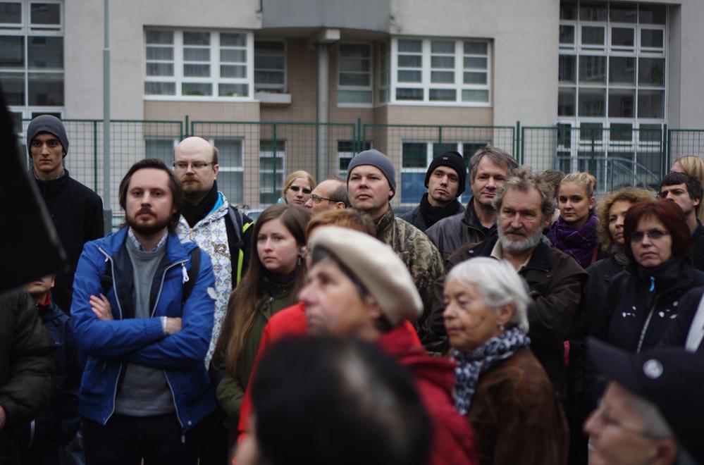 Sousedské setkání, pilotníu projekt revitalizace superbloku Vybíralova, Černý Most, (c) IPR