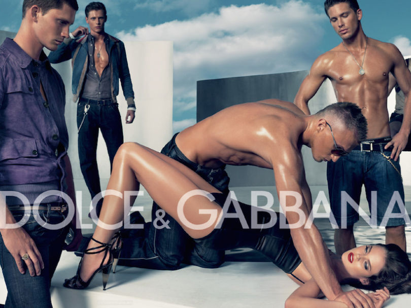 Controversial Dolce&Gabbana fashion resembling real gang rape incident of an young Indian woman, who later died. source: Dolce&Gabanna