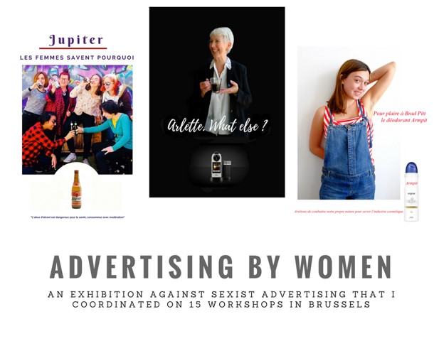 Advertising by Women, a project by Nora Noor