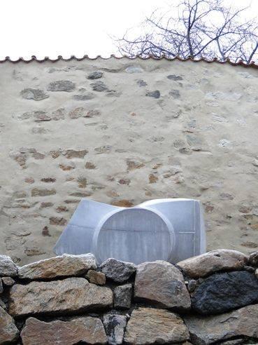 Symbol Dialogu s historií Monika Immrová, Fajfka, revitalizace nábřeží Maxipsa Fíka v Kadani. foto: archiv Monika Immrová