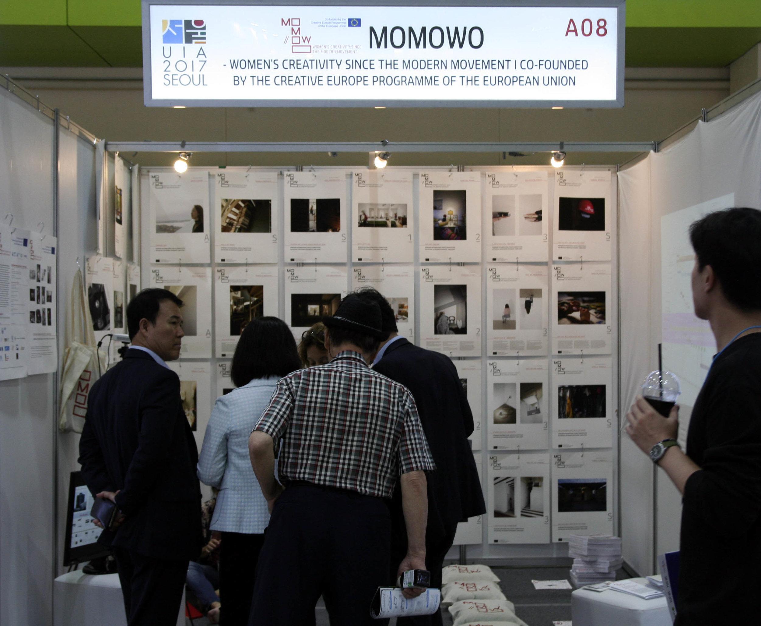MoMoWo at the UIA Seoul Word Architect Congress 2017 Coex, Seoul (South Korea), 7-10 September 2017, photo: Caterina Franchini