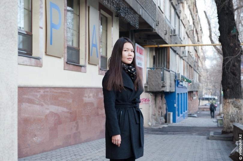 Anel Moldakhmetova, photo:  voxpopuli.kz