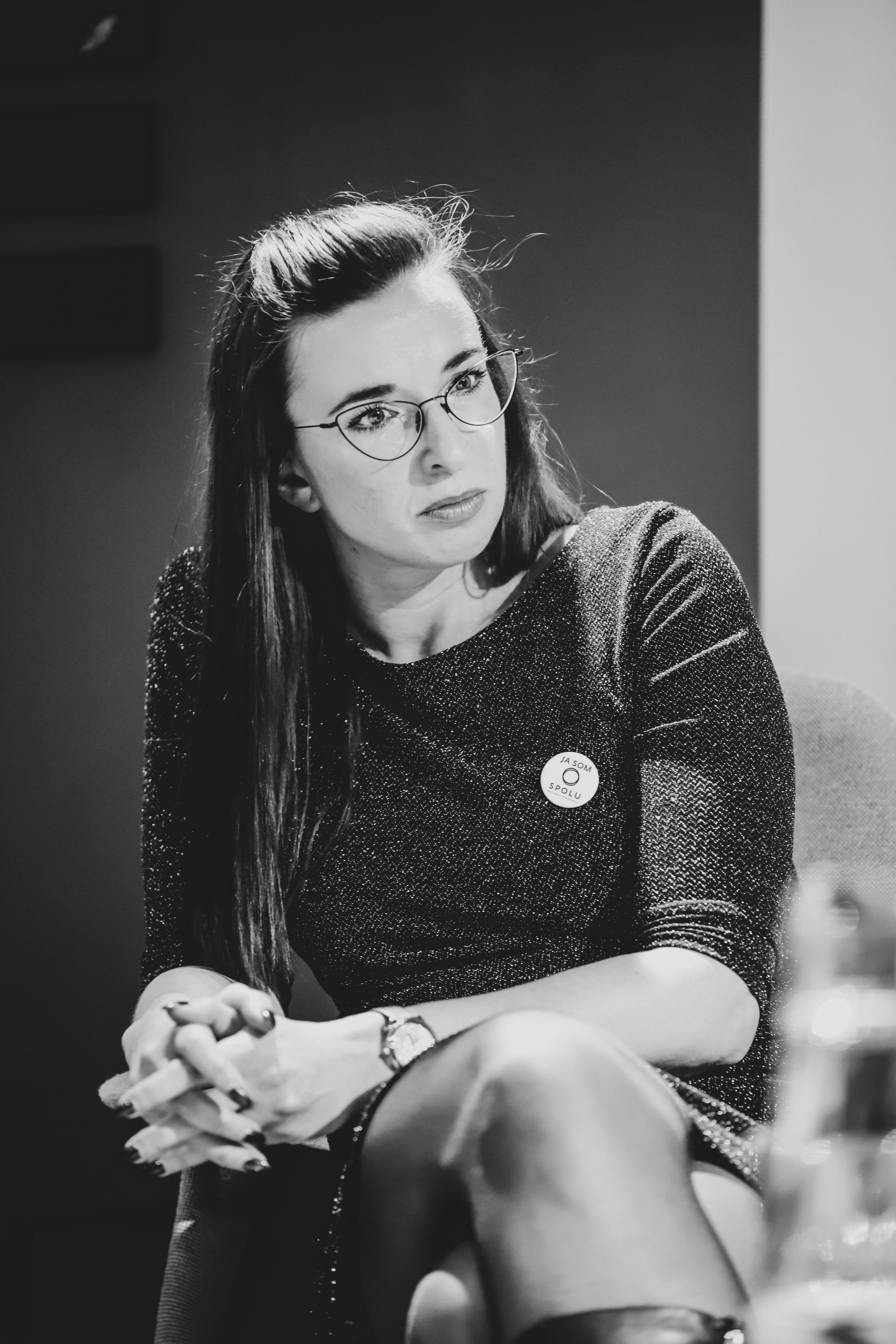 Simona Petrík, poslankyňa národnej rady Slovenskej republiky, kandidátka na europoslankyňu, ktorá sa otvorene hlási k ochrane ženských práv, foto: archív SP
