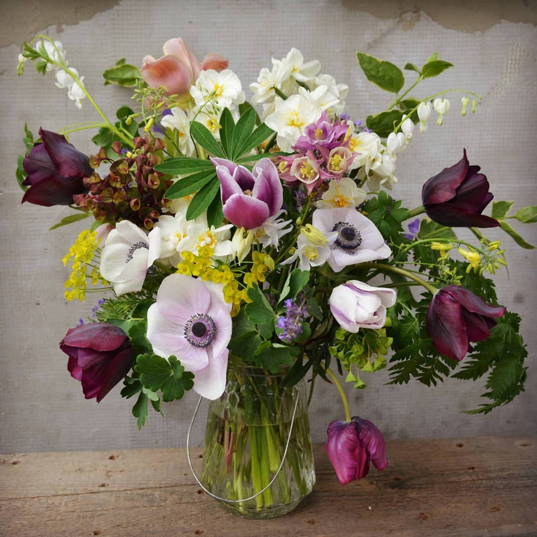 Wildflower bouquets as products of ecological farming, photo: Zeliny z Doliny archive