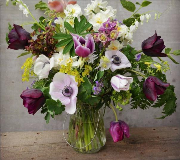 Kytica divokých kvetov ako produkt ekologického farmárčenia. Fotografia:    Zeliny z Doliny