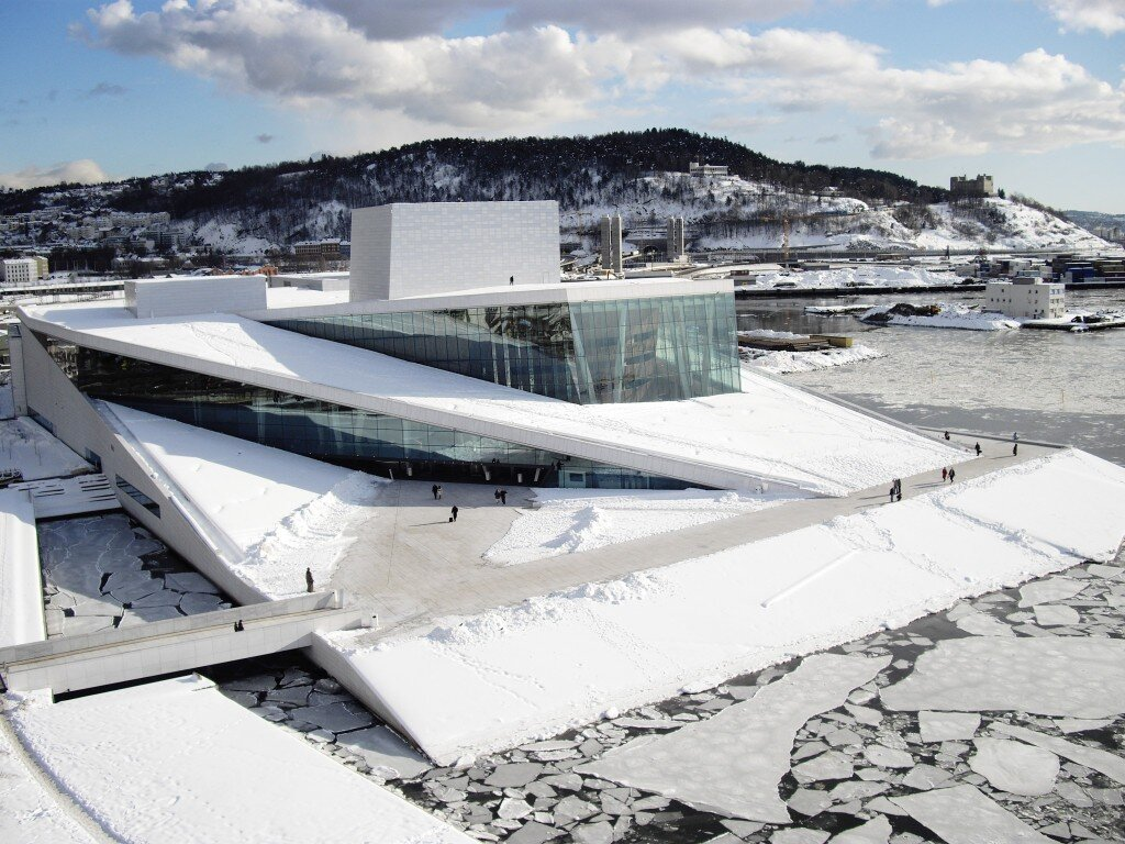 Norwegian National Opera and Ballet, photo: Snøhetta
