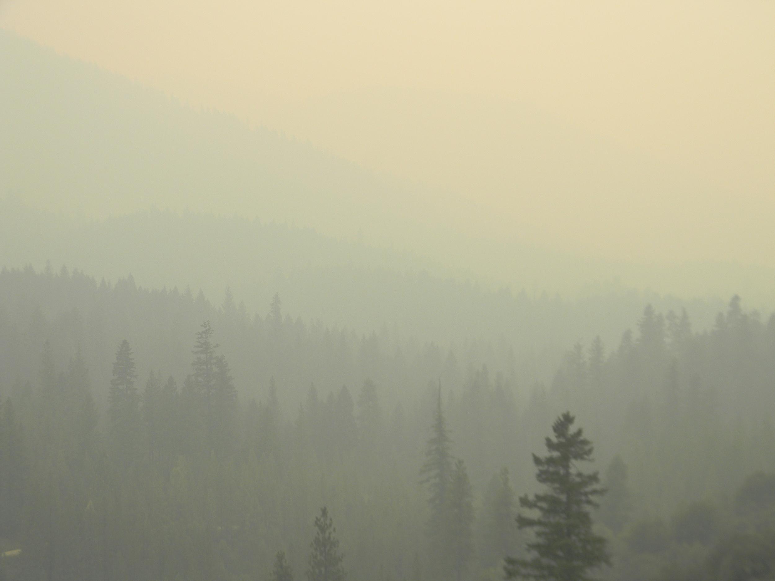 Late Summer, Holy Smokes... Fire Season 2015, Hayfork Valley