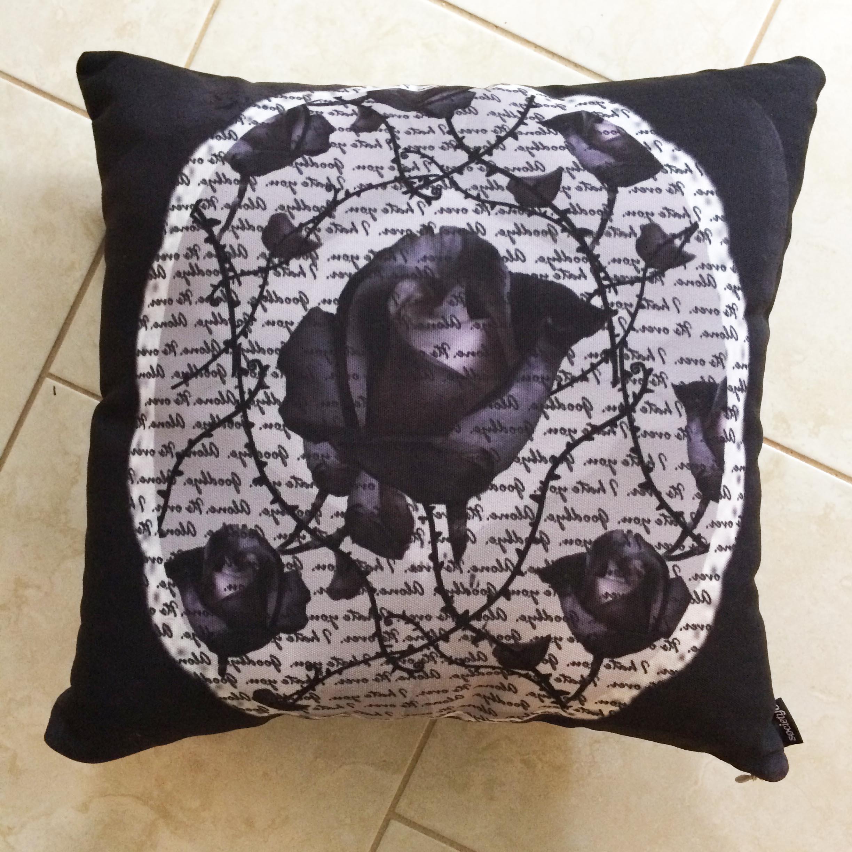 Bitter Rose Pillow