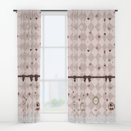 Alice's Tea Curtains