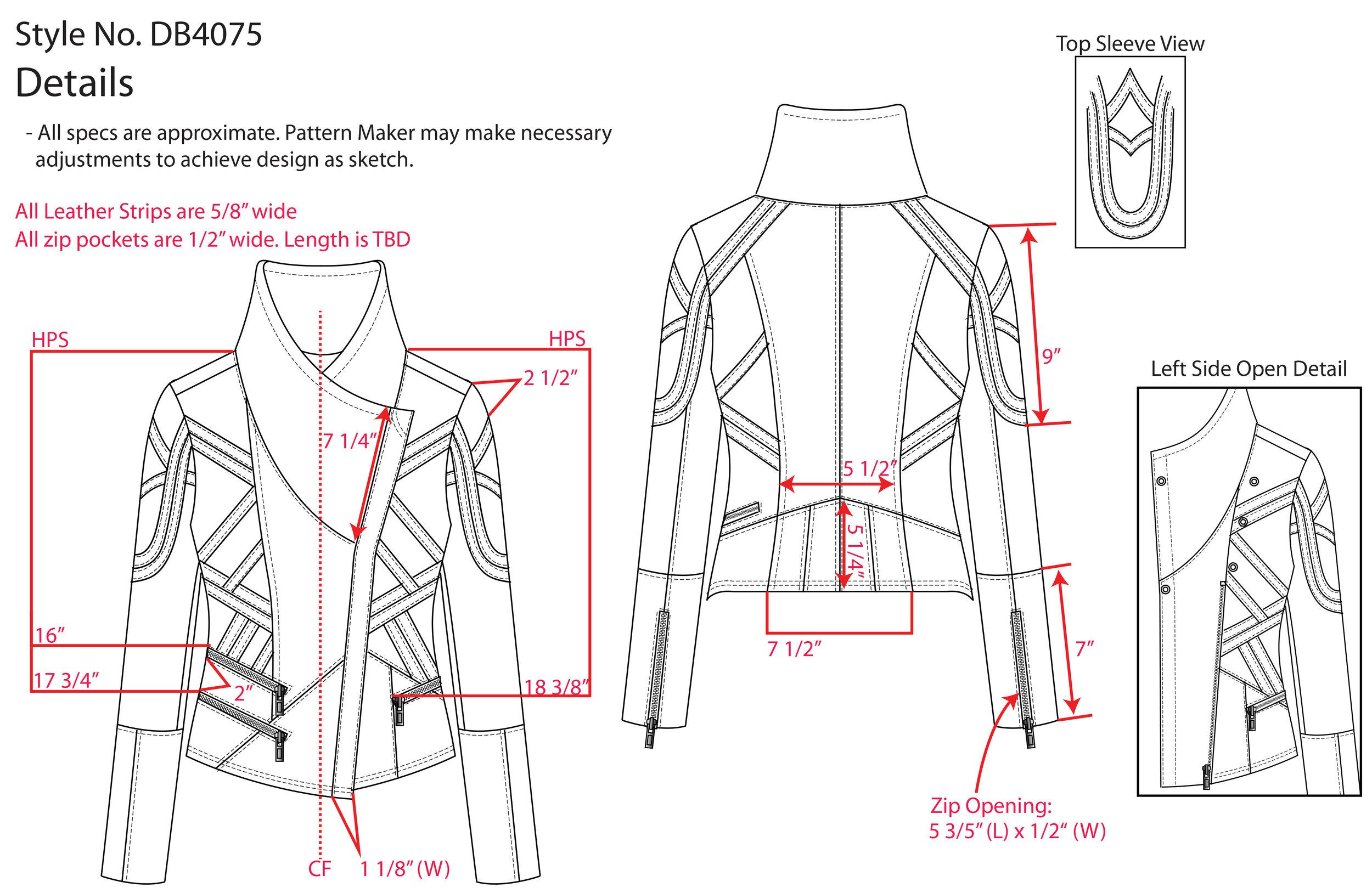 Jacket Tech Pack excerpt