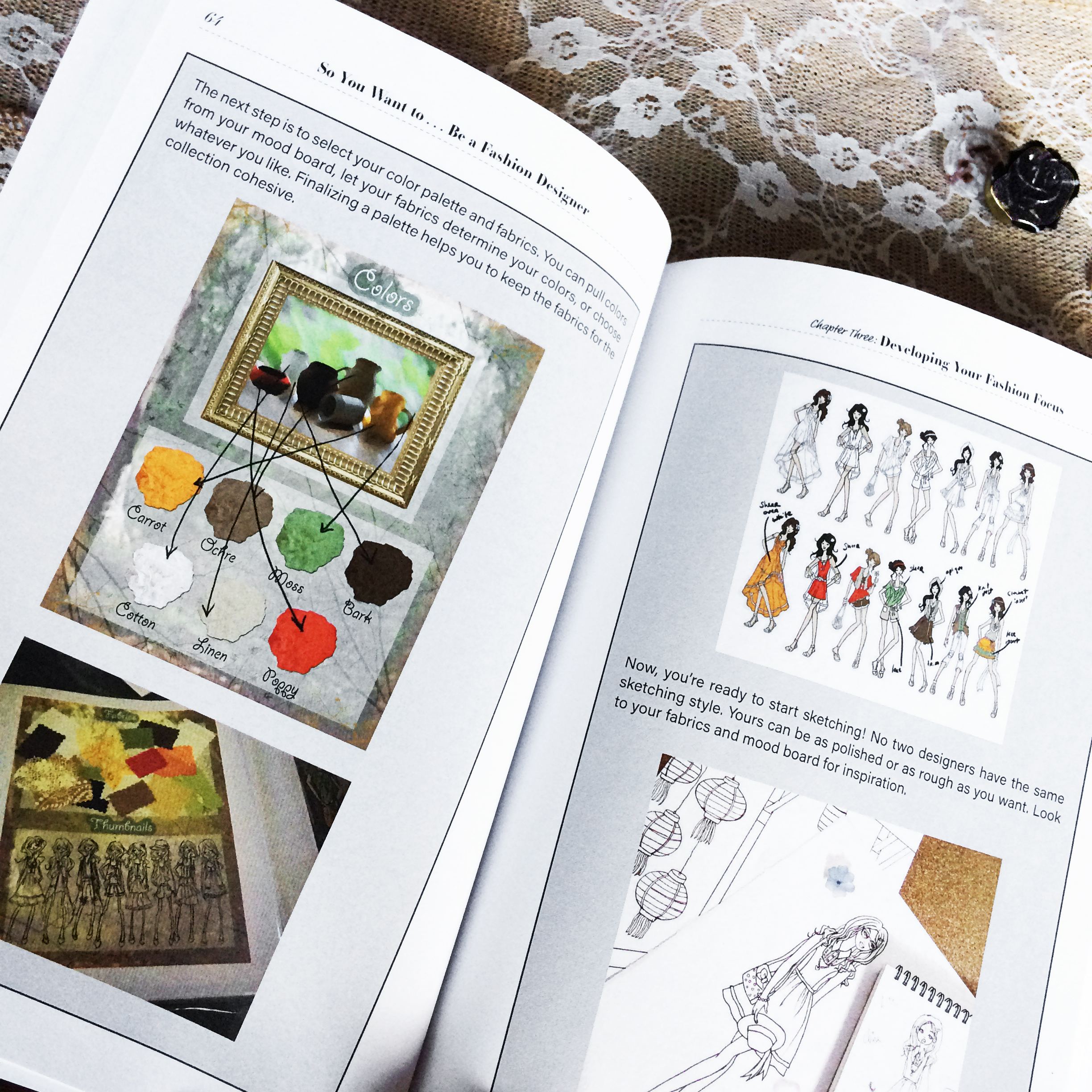 So You Want to Be A Fashion Designer- Book