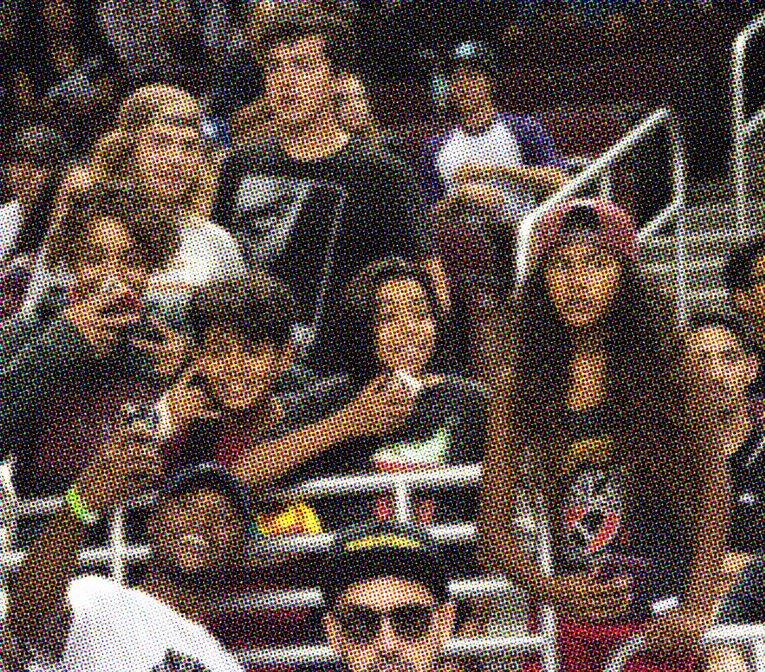 Dashawn Jordan, and some very excited fans.
