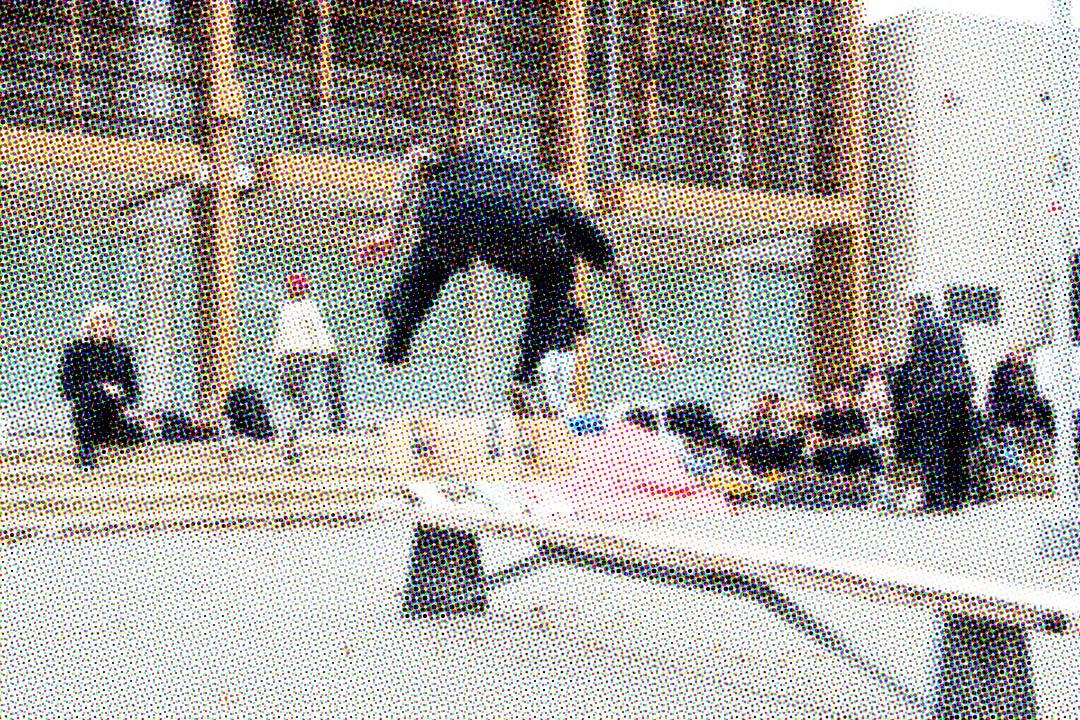 Chandler Burton, Backside Flip