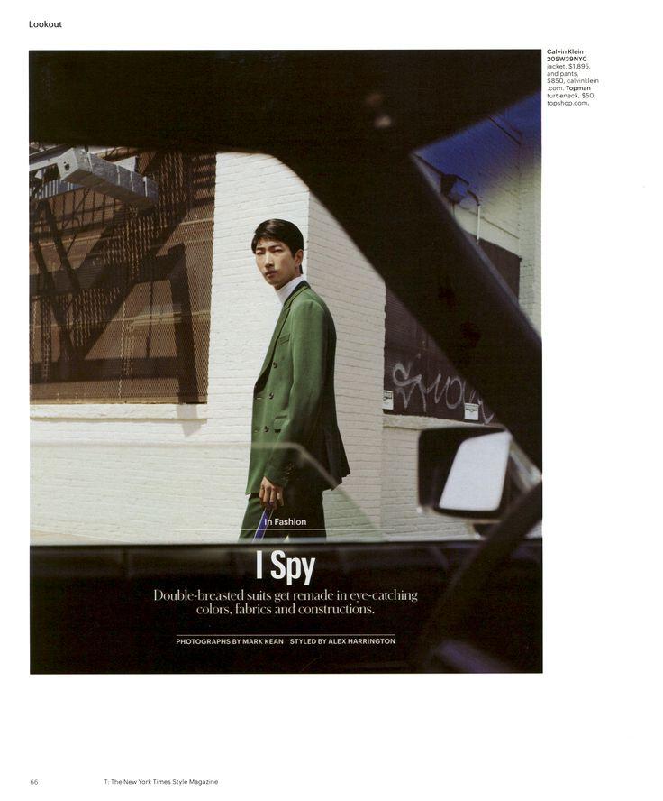 T Magazine styled by Alex Harrington