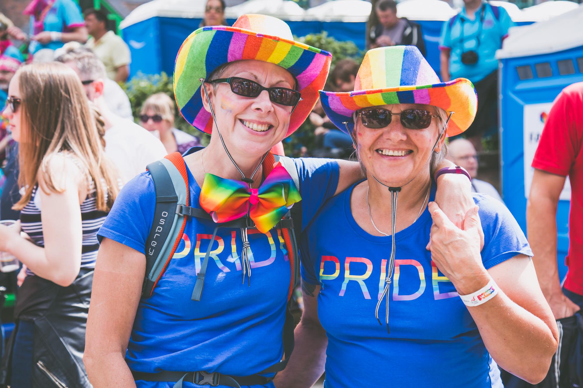 Pride couple