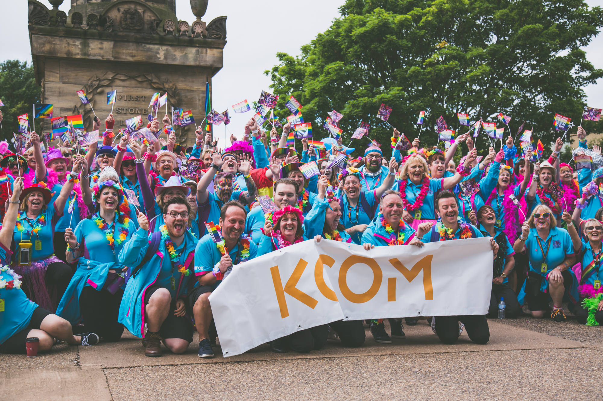 KCOM volunteer group