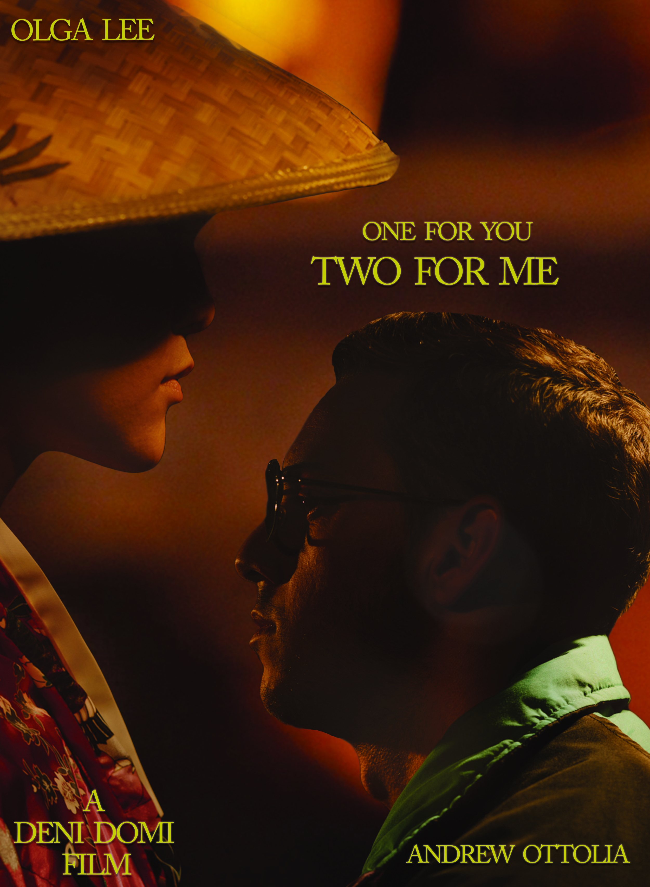 ONE FOR YOU TWO FOR ME MOVIE POSTER