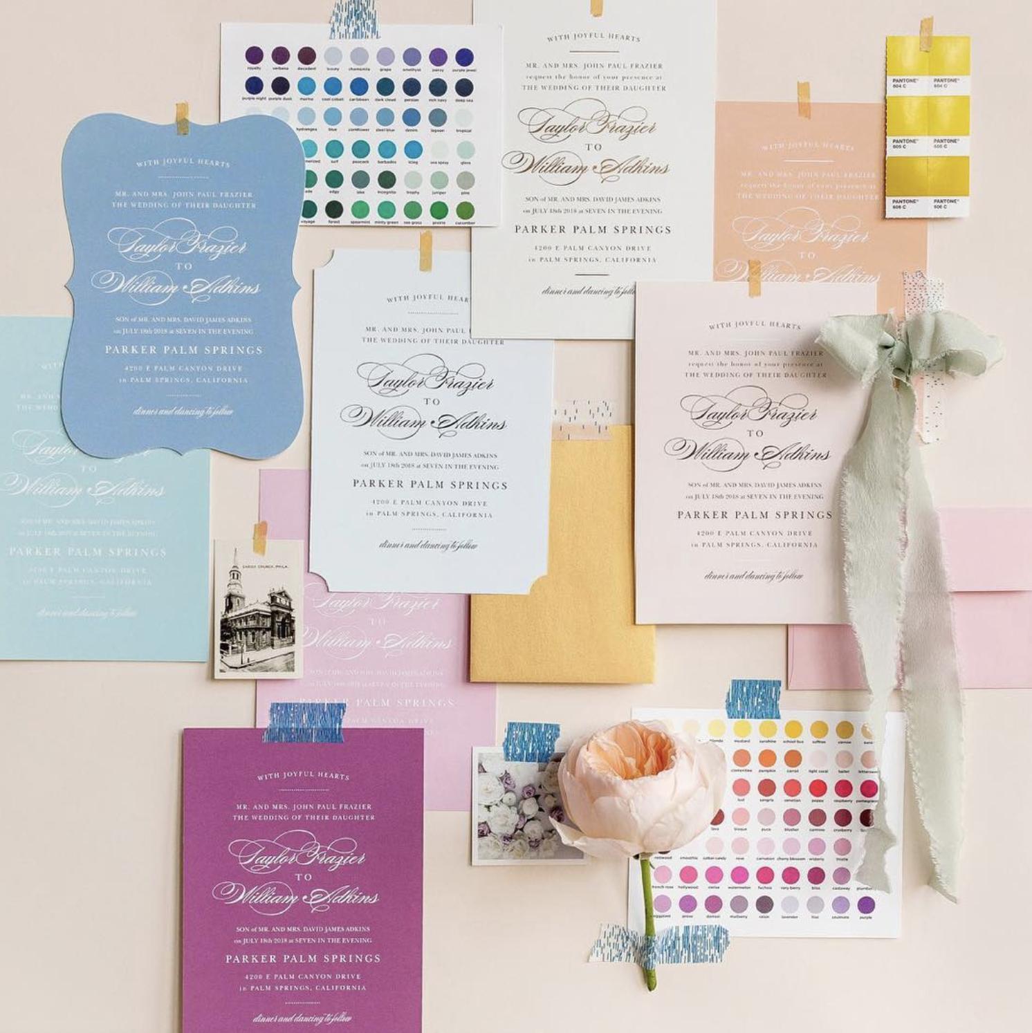 Basic Invite Colors