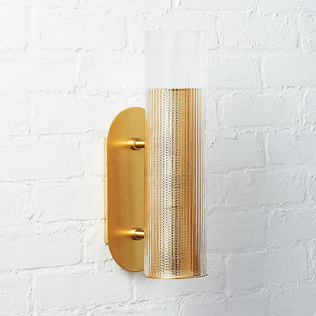QLL - CB2 - Striae Ribbed Sconce.jpeg