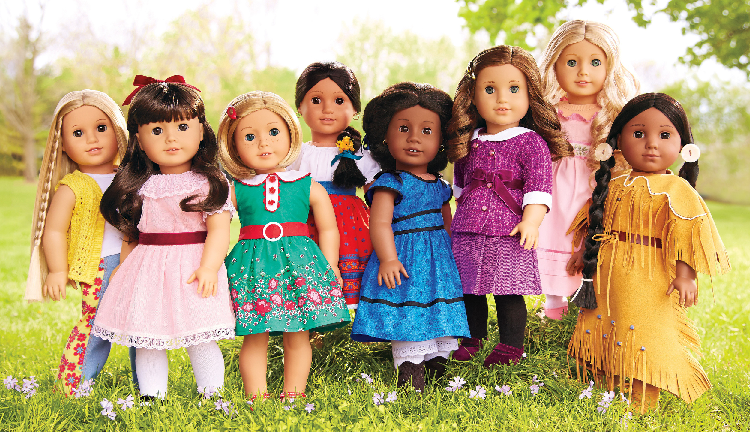 American Girl Character Dolls