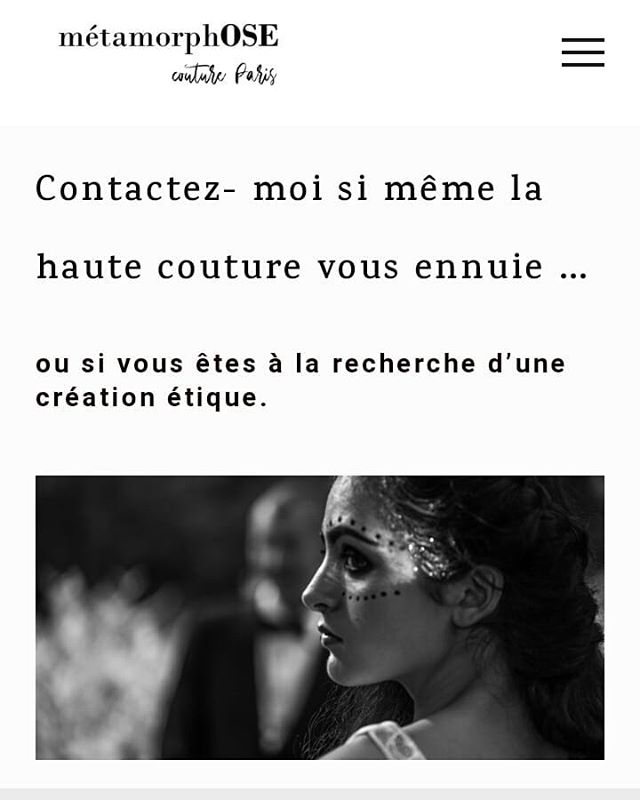 Le site, le logo - on se refait une beauté ... les ménages du printemps continuent... retrouvez une vraie métamorphose ♡  #creation #fashion #hautecouture #surmesure #savoirfaire #luxury  #lovemyjob #exclusivity