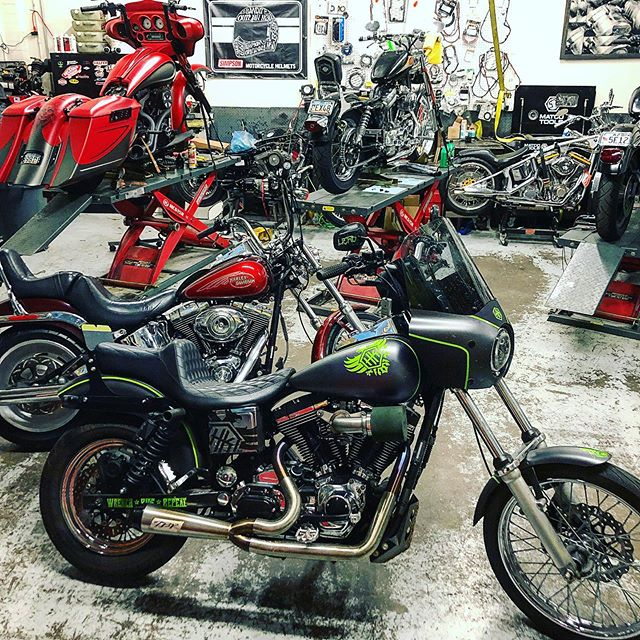 #headkacemotorcycles Tempe's  Harley specialists! From fluids to full builds let us keep you on the road!