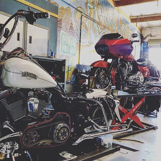 #turningandburning get your bike dialed and ready for your next ride! #headkacemotorcycles