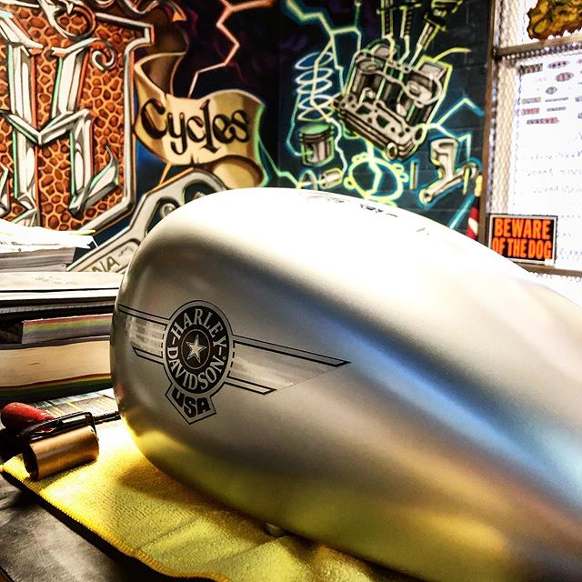 Custom paint and graphics for a 96 Softail  #headkacemotorcycles
