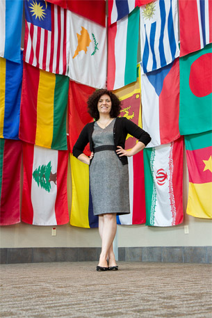 Post-master's participant promotes nuclear non-proliferation initiatives on a global scale