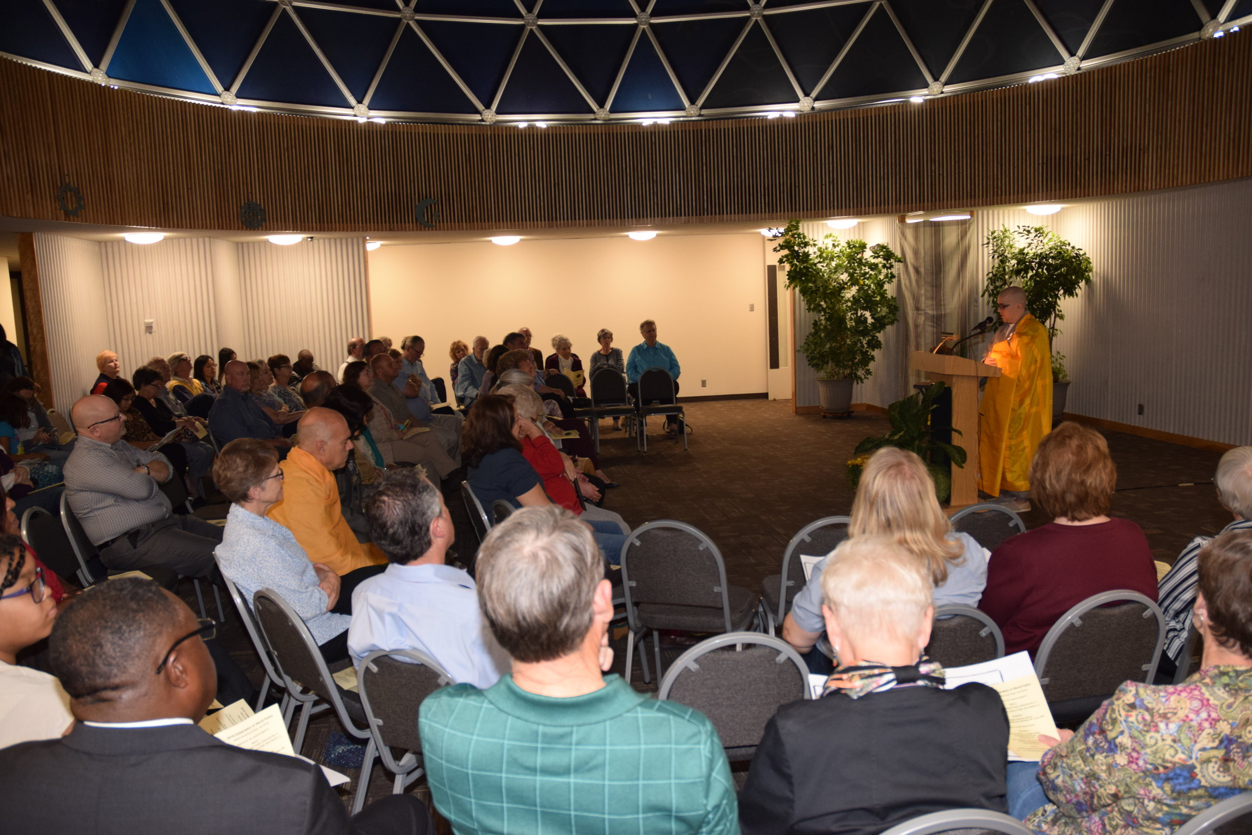 2016 Celebration of World Faiths at the Center for Spirituality & Sustainability