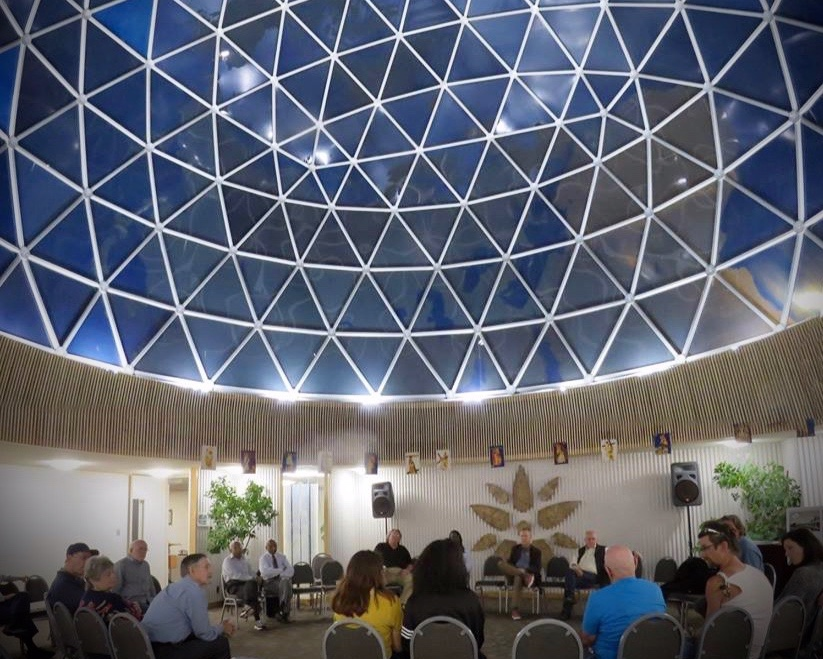 Buckminster Fuller Dome Benjamin Lowder Artwork Earth 3.jpeg