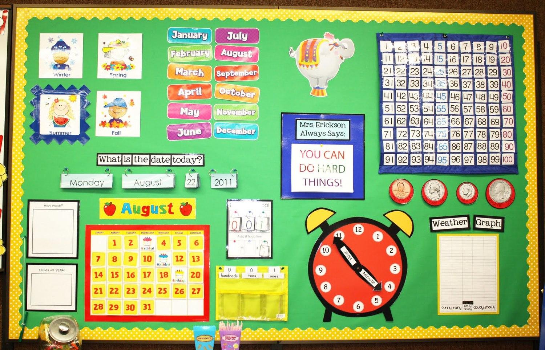 Calendar Lighted Window Preschool