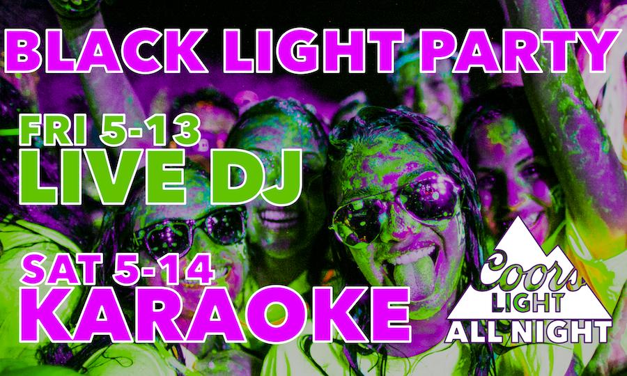 Black Light Party