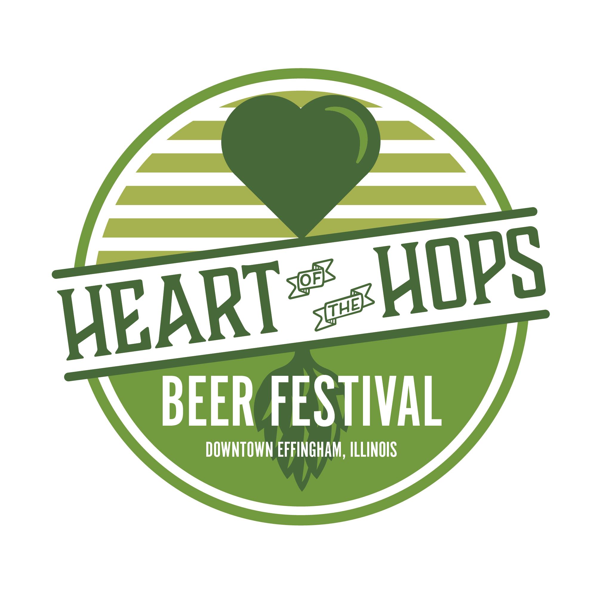 Craft beer festival logo branding design by Hagan Design Co Champaign Illinois