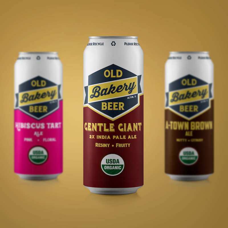 Craft beer can graphic design by Hagan Design Co, Champaign IL.