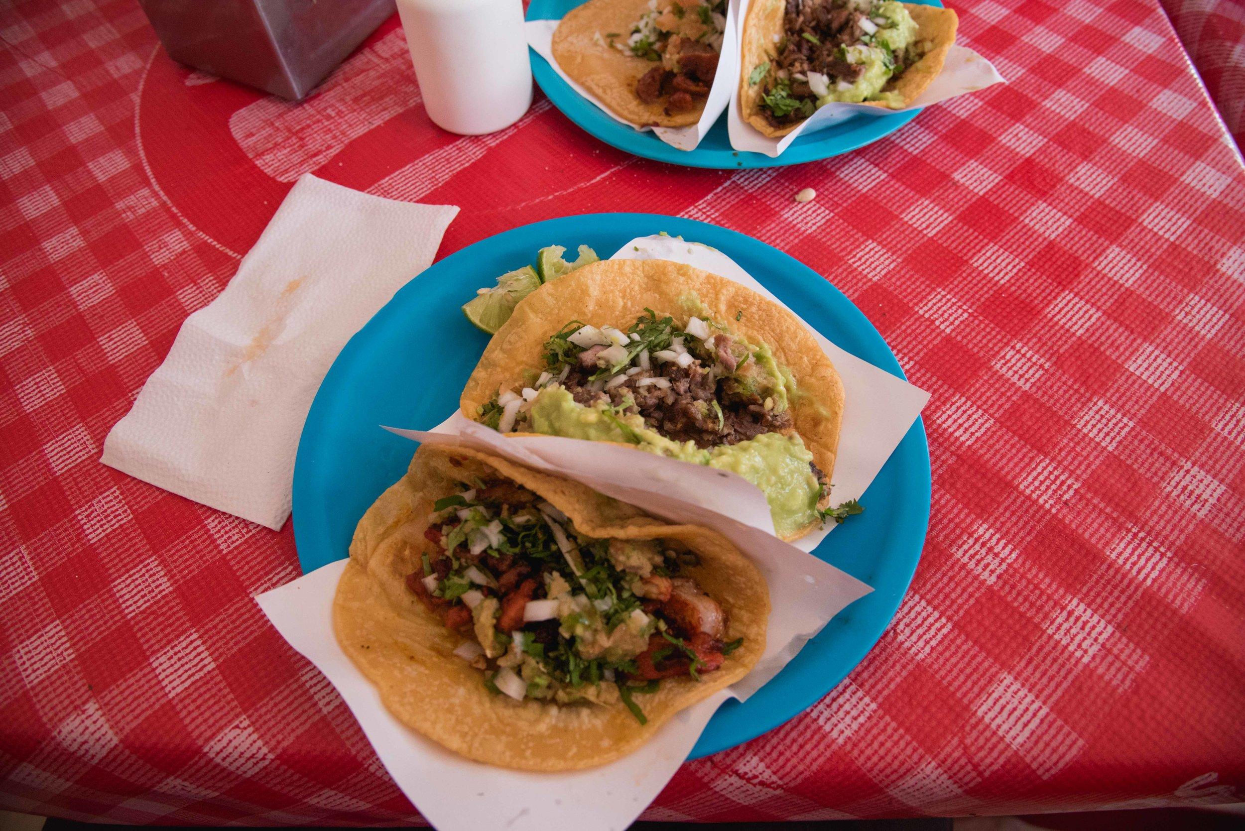 Street taco stop #1.