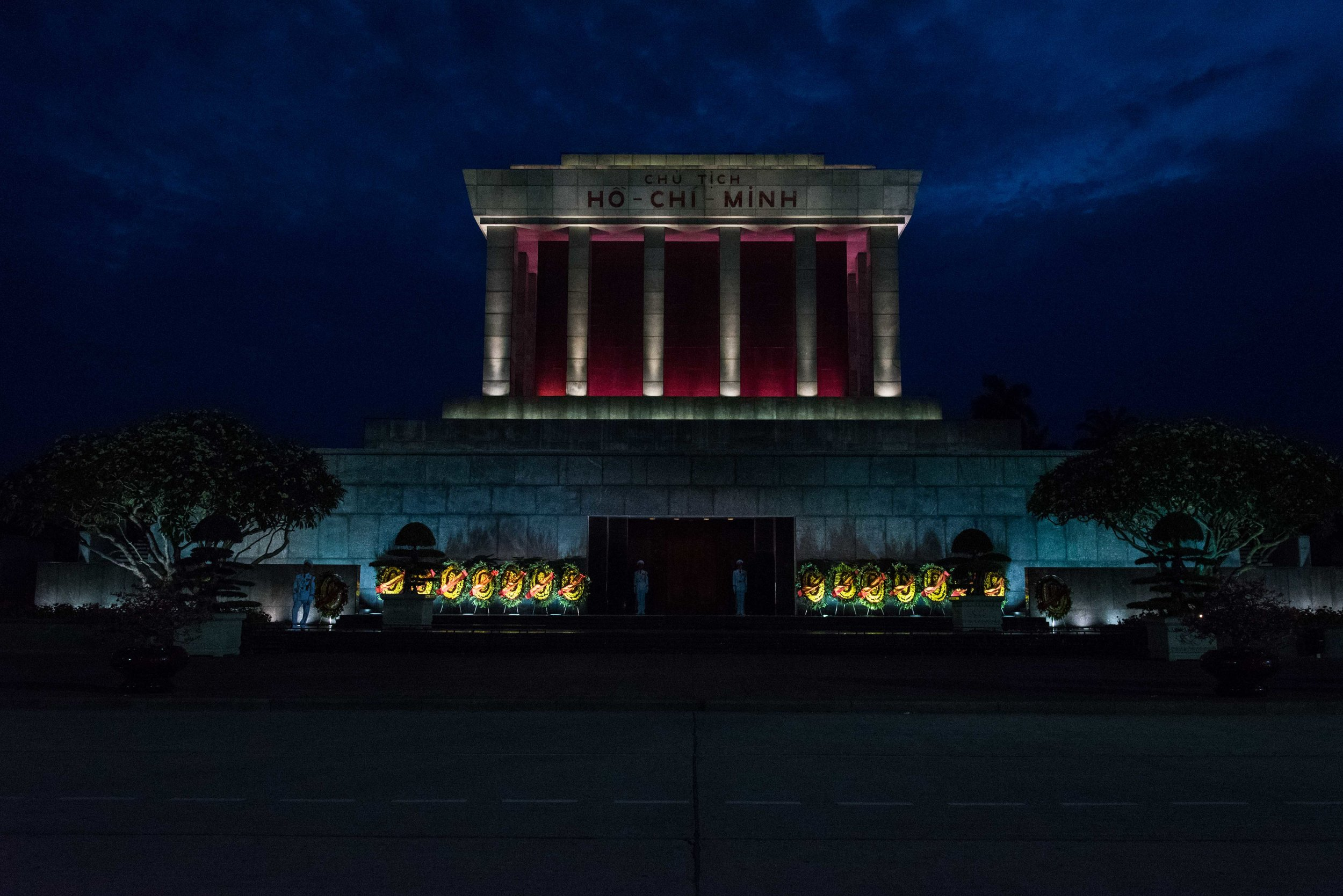 Ho Chi Minh's tomb.
