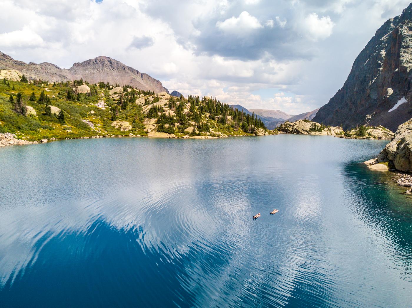 leviathan lake swimming