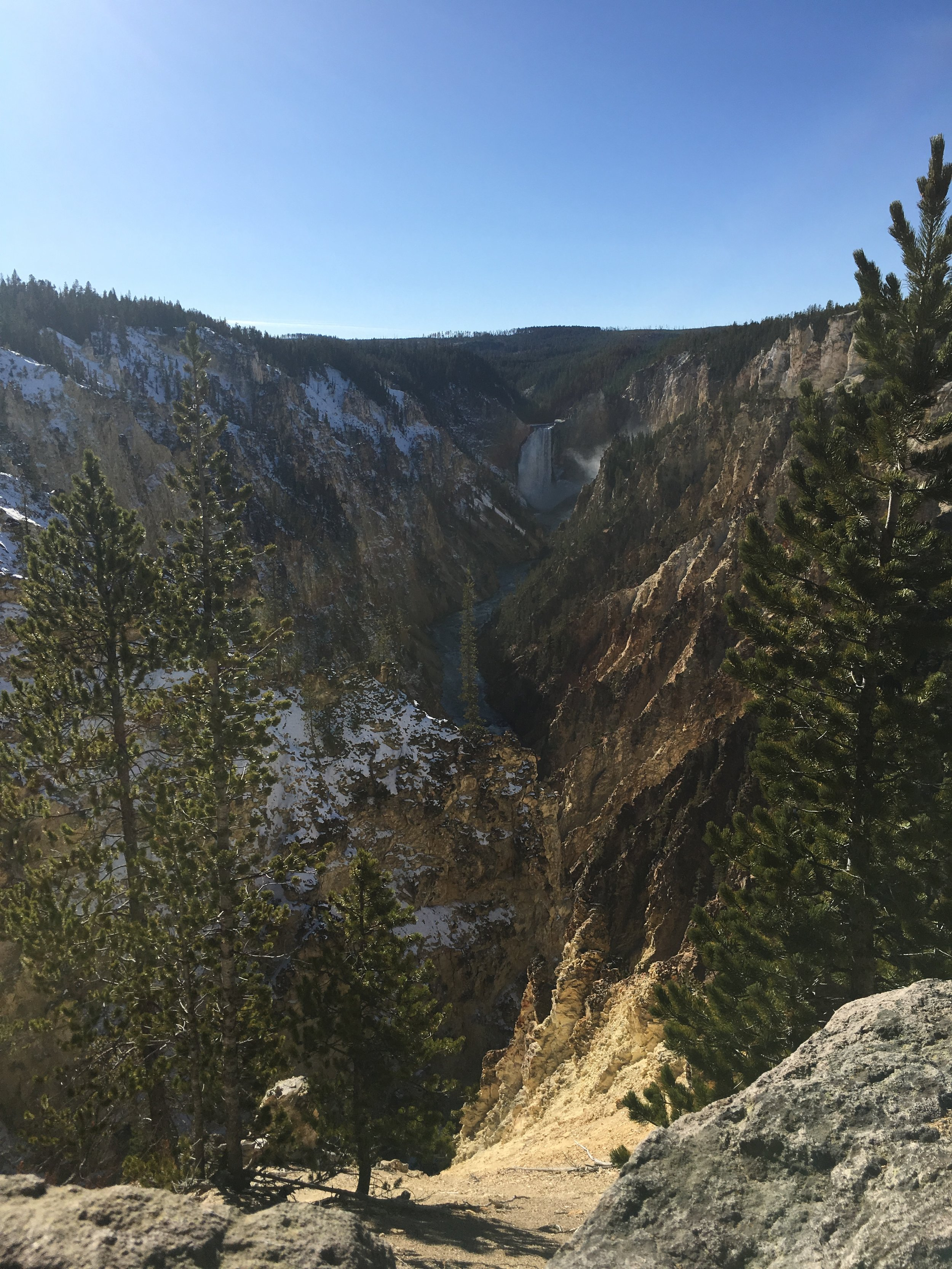 "The ""Grand Canyon"" of Yellowstone"