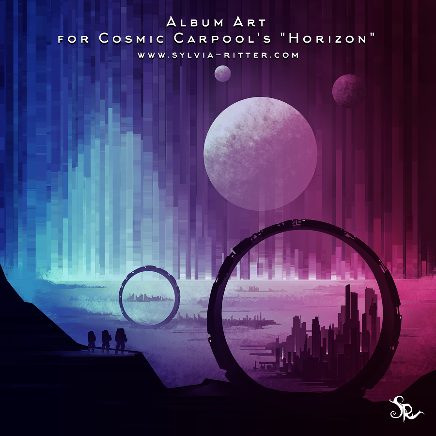 Album Art for Cosmic Carpool's Horizon