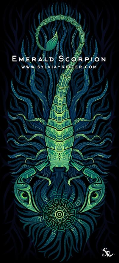 Emerald Scorpion